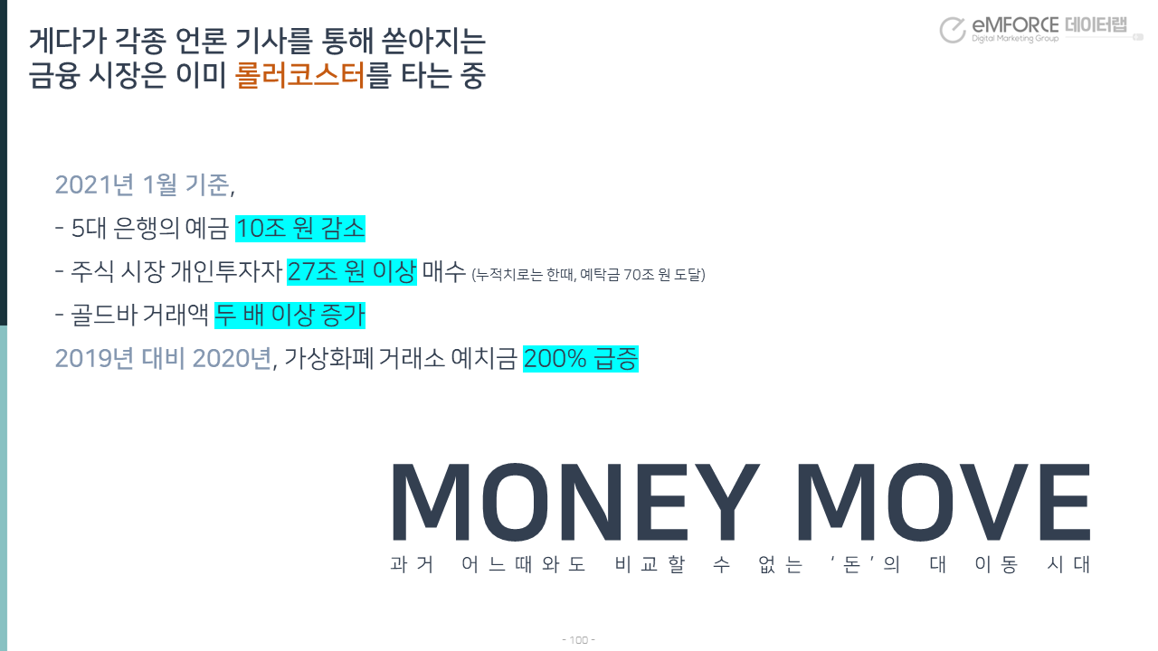 돈의 대이동 - money move